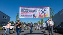 Umweltschützer protestieren gegen Kraftwerk Datteln 4