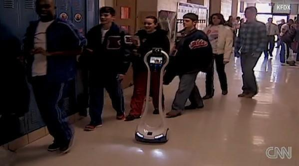Texas student sends robot to school in his place, can't get it to do his homework