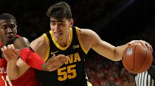 Luka Garza returns to Iowa from the NBA Draft with a new mission