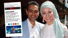 Waleed Aly's wife blasts 'blatantly untrue' article about The Project host