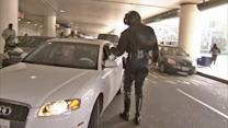 LAX officers hand out free parking coupons