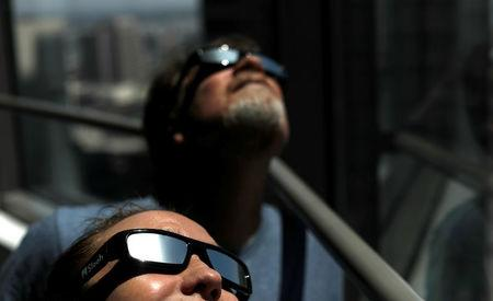Self-sufficient eclipse chasers hit the road to  'totality'