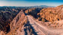 FOTOS | Los paisajes que parecen Arizona y están en medio de Granada
