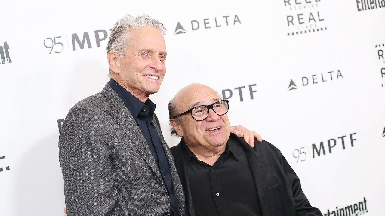 Michael Douglas Reveals He and Danny DeVito First Became Friends ...