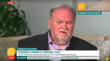 Thomas Markle hung up on Prince Harry during heated phone call - and fears Meghan will never speak to him again