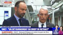 """SNCF : gare de l'Est, Philippe dénonce une """"grève inacceptable"""""""