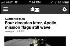 New Digg iPhone app available