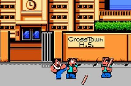 River City Ransom 2 barfing on Japanese WiiWare this summer