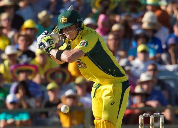 Steve Smith is the only Australian who uses his feet against the spinners