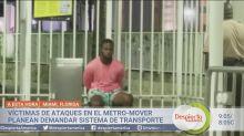 Víctimas de ataques en el Metromover de Miami demandarán al sistema de transporte