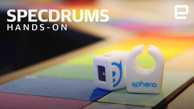Sphero's Specdrums rings bring beatmaking to your fingertips