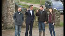 Cameron meets farmers in Brecon and Radnorshire