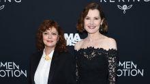 Susan Sarandon y Geena Davis se reencuentran en un pase especial de 'Thelma y Louise'
