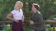 'I'm A Celeb': Declan Donnelly corrects Holly Willoughby after she gets pun wrong