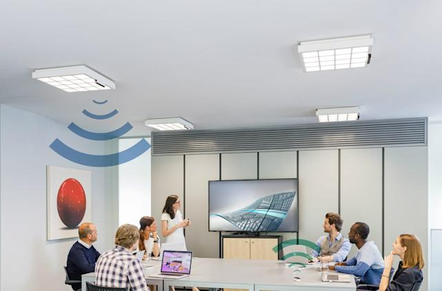 Signify's LiFi system promises up to 150 Mbps internet via LED lights
