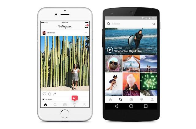 Instagram rolls out its Facebook-style algorithmic feed