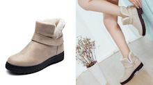 These stylish slip-on winter boots are on sale for only $32