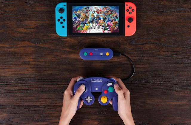 8Bitdo's GBros. links your wired GameCube controller and your Switch