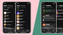 Spotify's redesign simplifies navigation and highlights podcasts