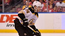 Bruins' Jakes DeBrusk explains how he plans to play tougher, stronger game