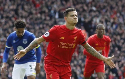 Liverpool et Coutinho survolent le derby de la Mersey !