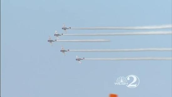 Wings and Waves air show takes to Daytona Beach