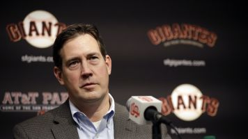 Report: Giants remove Bobby Evans as GM