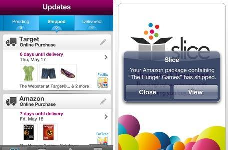 Daily iPhone App: Slice helps you track your online purchases
