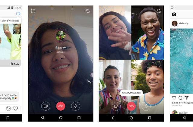 Instagram's group video chat hits your phone today (updated)