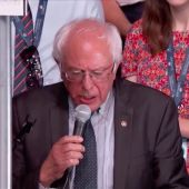 What Bernie Sanders Supporters Said in the Convention Roll Call