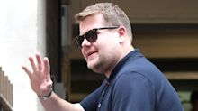 James Corden and fellow late night hosts address unprecedented day in US
