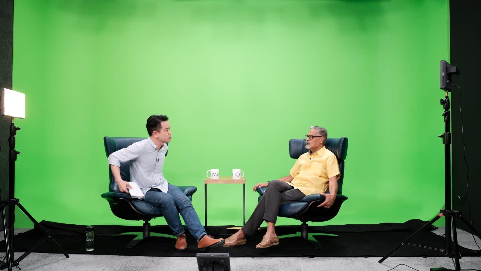 Lee Kuan Yew made journalists 'look behind their backs': veteran journalist PN Balji