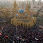 Lebanon rocked by vast protests demanding resignation of Hariri government