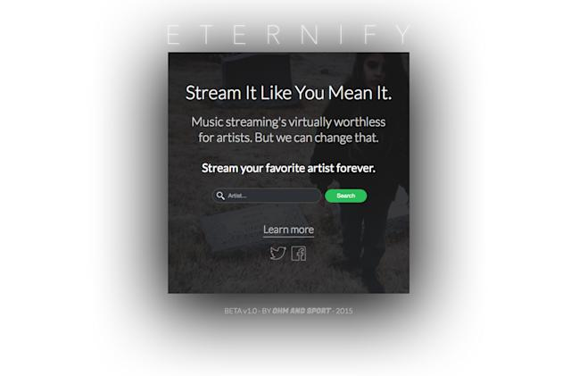 Eternify tricks Spotify into paying bands more with 30-second loops (update)