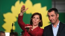 Germany's Greens to flex muscles as possible Merkel allies