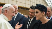 Katy Perry and Orlando Bloom Reunite with a Couples Style Moment in Rome
