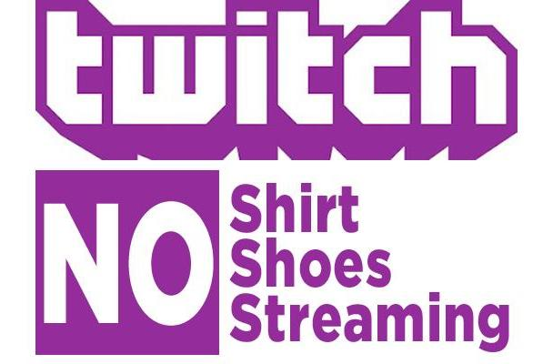 Put your clothes back on, Twitch streamers