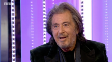 Al Pacino tries to leave The One Show mid-interview after awkward chat