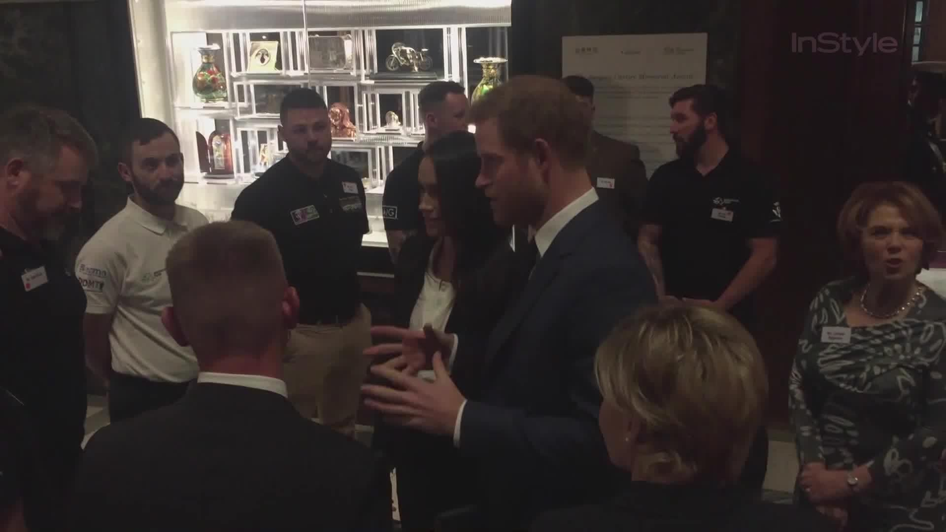 meghan markle ditches the formal dress for a pantsuit for