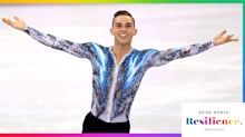 Olympian Adam Rippon on coming out before a major skating competition: 'I felt power going out there'