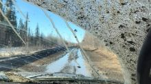 'A nightmare trip' as Mackenzie Valley winter road turns to mud and slush