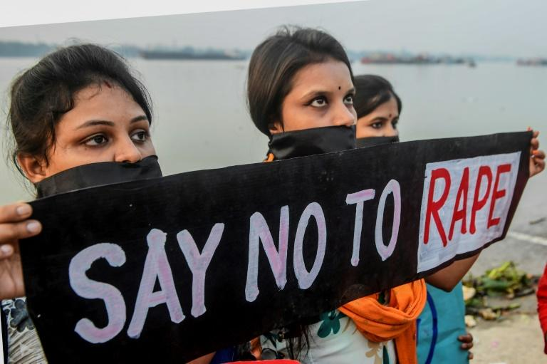 Sexual violence against women is rife in India (AFP Photo/Dibyangshu SARKAR)