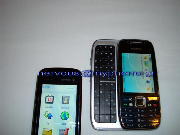 Nokia's QWERTY slider E75 spotted in the wild again