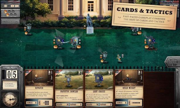 The Civil War gets steamy in Ironclad Tactics on Android