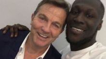 Bradley Walsh and Stormzy strike up unlikely friendship at Brit Awards
