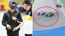 Daniel Ricciardo rages over 'unbelievable' F1 drama