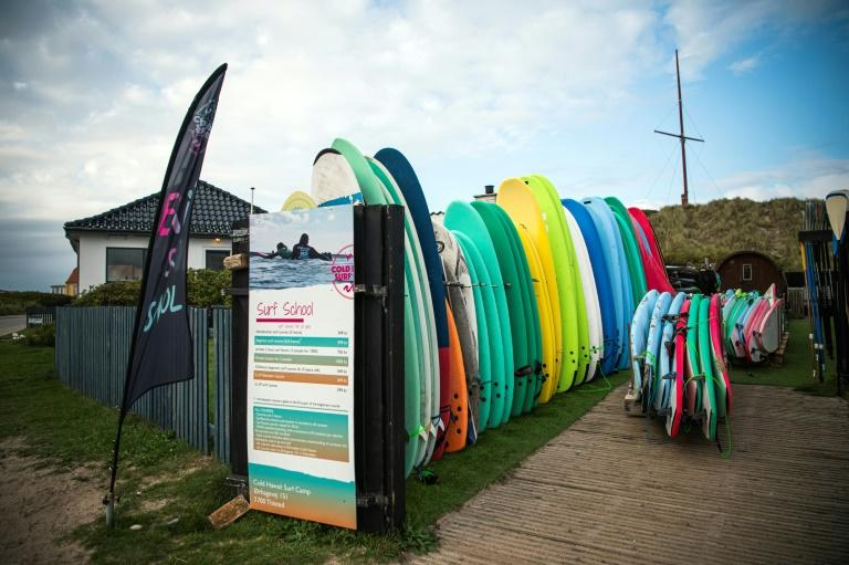 Nowadays surfing is an integral part of the local culture - and is even part of children's schoolday, with surfing lessons on their schedule