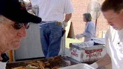Shriners Hold Fish Fry