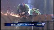 Layoffs at Caterpillar begin this week