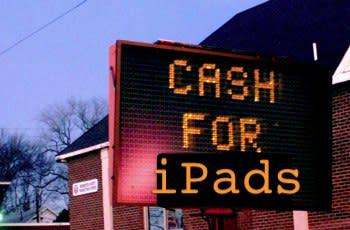 Apple no-cash policy for iPad takes some by surprise